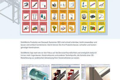 CAE Firmenfolder SolidWorks