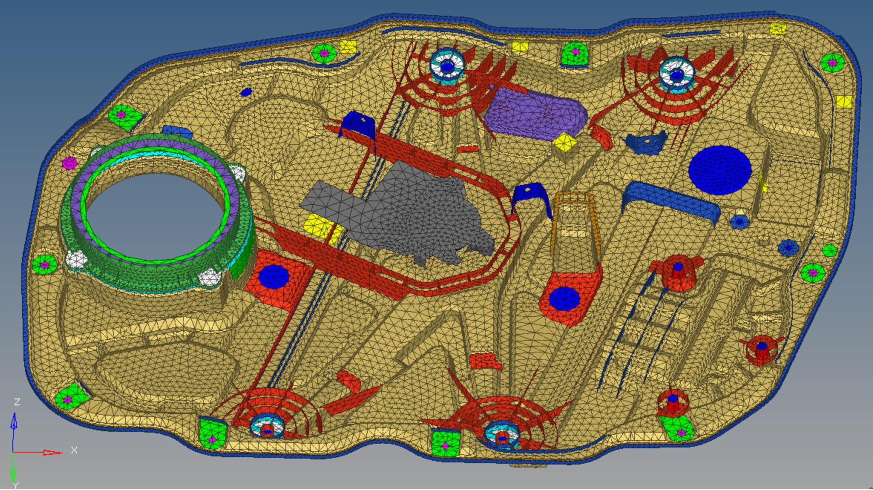 Real simulation of vehicle acoustics