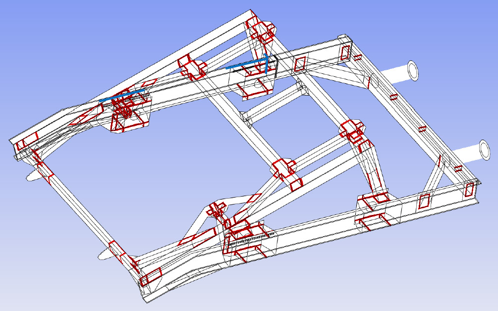Fahrzeugrahmen | CAE Simulation Solutions