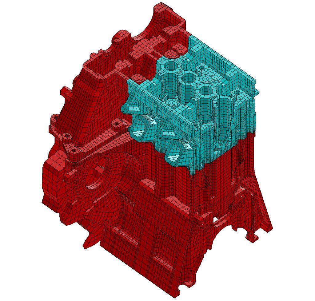 Zylinderkopf Simulation