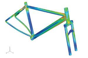 Simulation Fahrrad