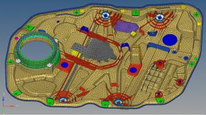 Akustik Simulation Automotive