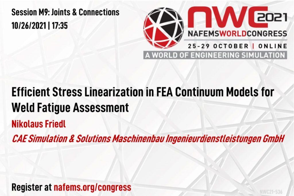 NAFEMS world congress 2021